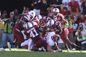 Alabama vs. Gamecocks 2010