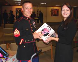 Marine birthday party