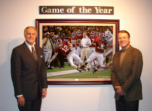 Dr. Gaylon McCollough (left) and Daniel Moore