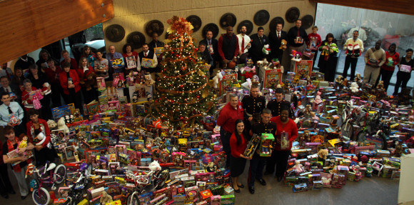 Toys for Tots at the US Sports Academy