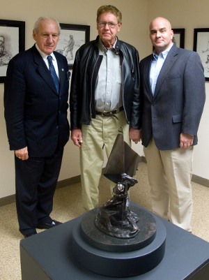 Cal Walters meets with local leadership on the campus of the United States Sports Academy to discuss the development of a new Detachemnt in Daphne.