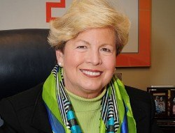 Joan Cronan, the Academy's 2011 Carl Maddox Sports Management Award winner.