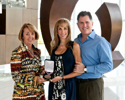 Susan Dell Receives the United States Sports Academy's 2010 Dwight D. Eisenhower Fitness Award