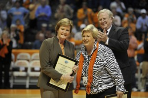 Summitt and Cronan receive Academy Awards of Sport