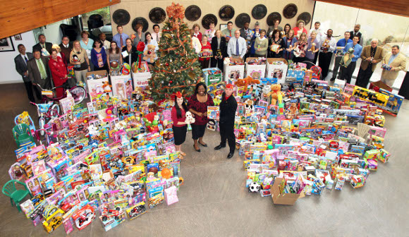 Organization For Toys For Tots Application Form : Academy delivers thousands of gifts to toys for tots