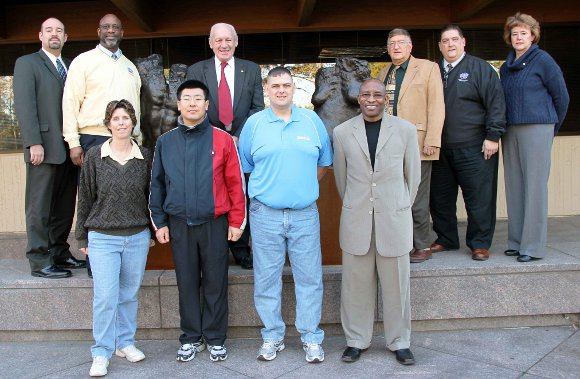 Doctoral students on the United States Sports Academy campus in Daphne, AL